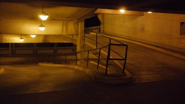 garage lighting before LED