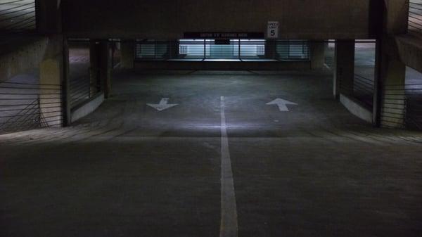Non-LED garage lighting