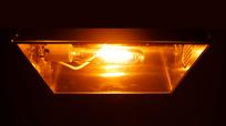High Pressure Sodium Light and Fixture