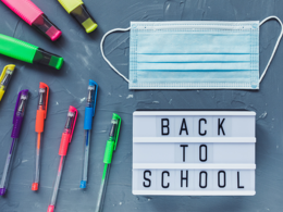 Back to School Image with Mask