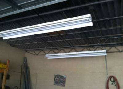 Fluorescent Replacement Lighting for Industrial Spaces