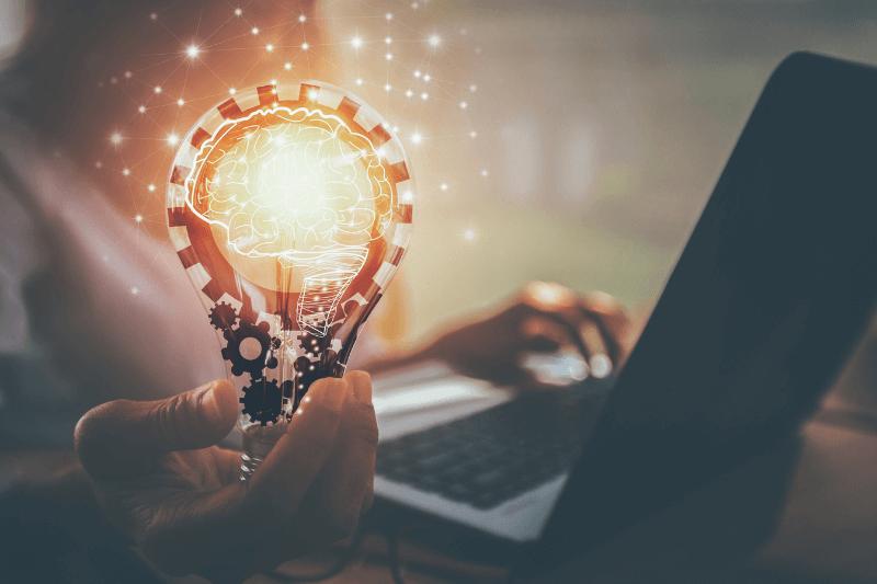 Lighting Education and Information Light Bulb