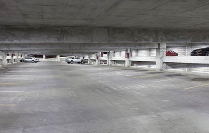 LED Parking Garage Lights