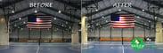 Upper Chichester Pennsylvania Gymnasium LED Conversion