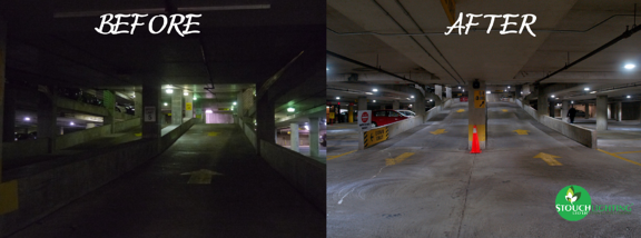Improve CRI With LED Parking Lot Lighting Retrofit or Conversion