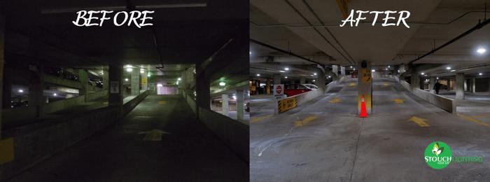Improve CRI With LED Parking Lot Lighting Retrofit or Conversion