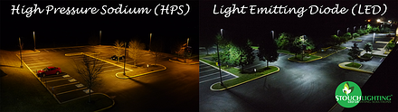 HPS vs. LED before and after