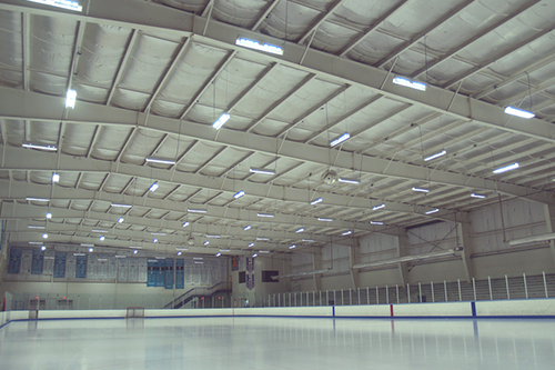 LED Lighting Upgrade in Ice Rink Facility in Pennsylvania