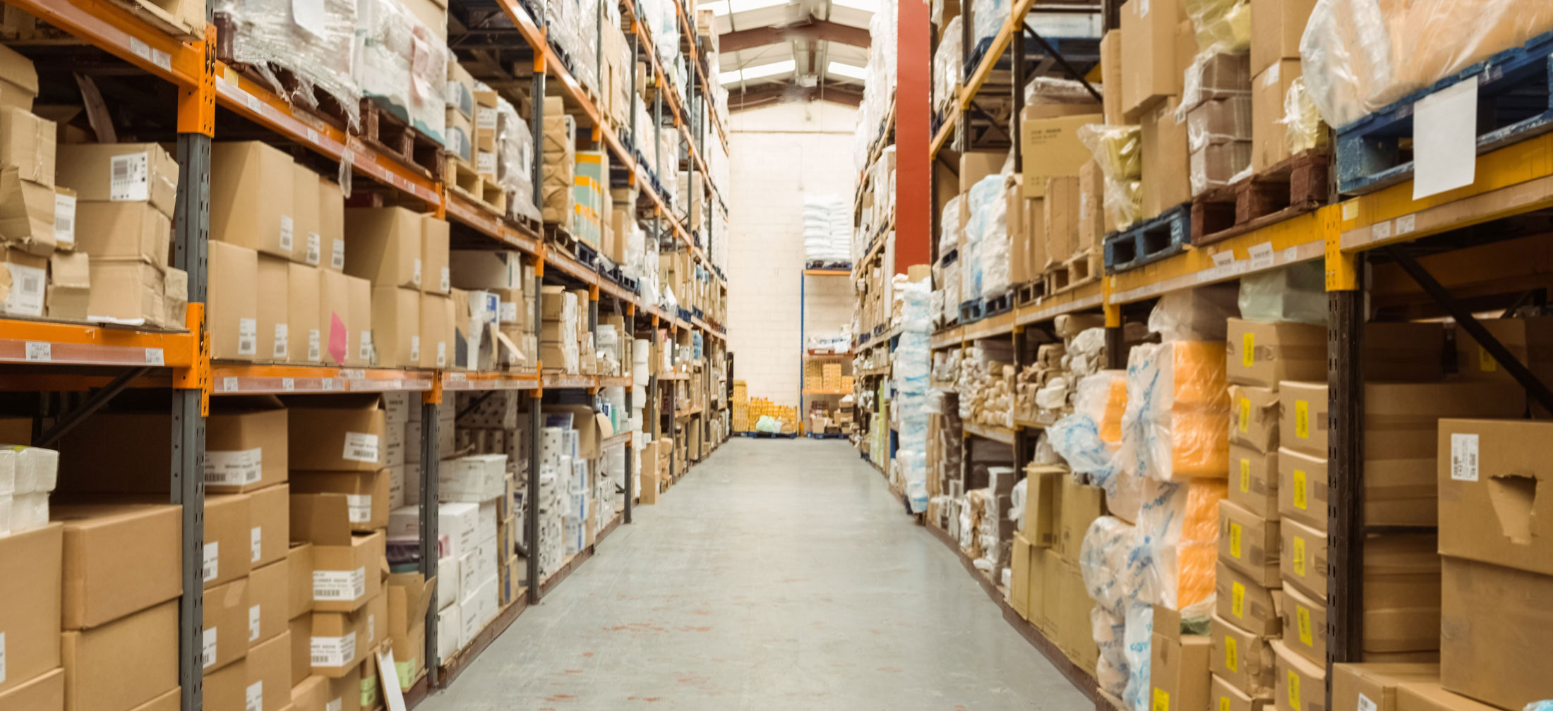 LED Lighting Distribution and Supply Center Inventory