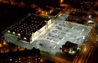 Parking Lot Lighting Retrofit After Photo Stouch Lighting