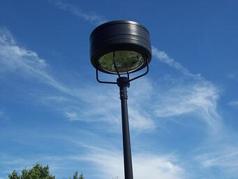 Parking lot and area lighting applications commercial outdoor lighting aloadofball Gallery