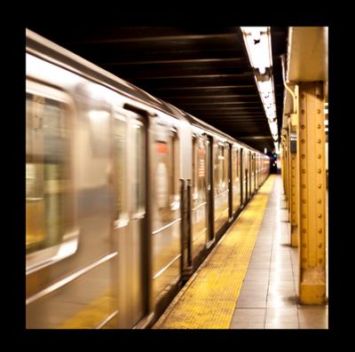 Vandal Resistant Lighting In Subway Station