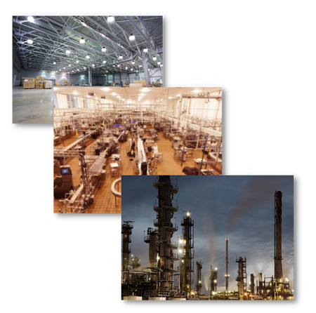 Industrial Pillar Page Industry Markets Graphic