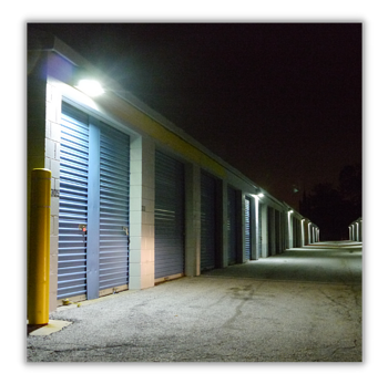Industrial Storage Unit Lighting Retrofit After Photo Stouch Lighting
