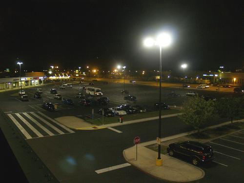 Korman Parking Lot Lighting Retrofit Case Study After Photo