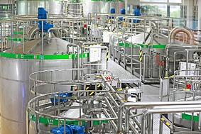 Dairy Plant Stock Photo-1