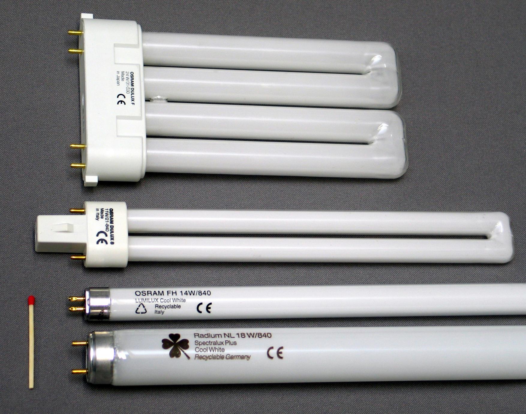 Lighting Comparison: LED vs Fluorescent and CFL