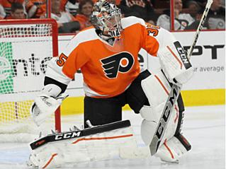 Philadelphia Flyers Goalie Photo after LED Lighting