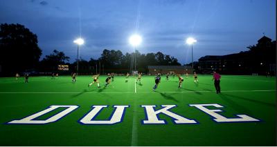 Duke University LED Lighting at Brooks Field