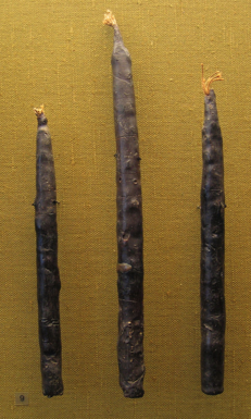 The Oberflacht Beeswax Candles from 6th/7th Century A.D. Germany