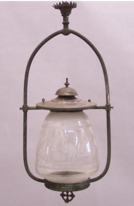 gas lamp for street lighting