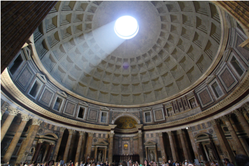 Architecture Taking Advantage of Natural Light (The Pantheon)