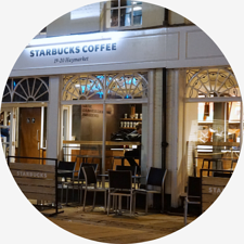 Starbucks chain store