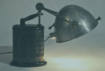Vintage UV Quartz Lamp-1