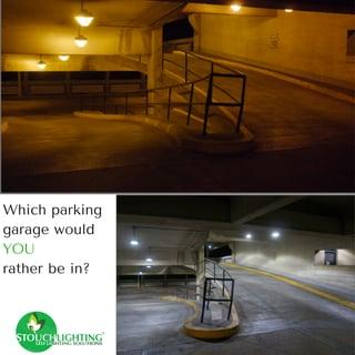 commercial led lighting fixtures parking garage
