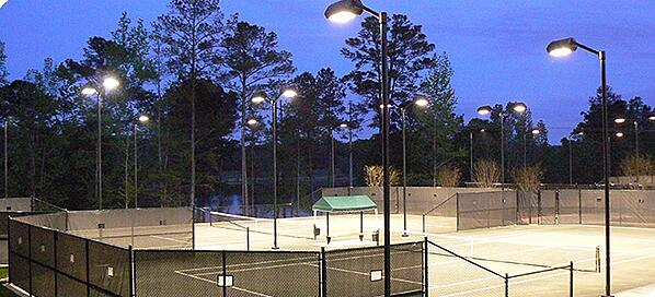 LED tennis court lights