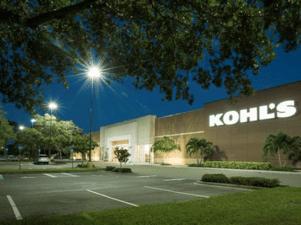 Kohl's Parking Lot Lighting Retrofit Case Study After Photo