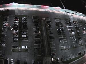 R.J. Waters Parking Lot Retrofit After Picture