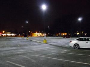 Kaiserman Parking Lot Lighting Retrofit Conversion After Photo