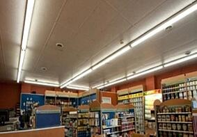 Fluorescent Lighting Replacement in Convenience Store