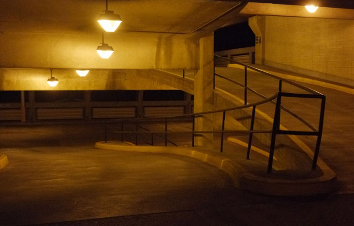 issues with HID Parking Garage Lighting