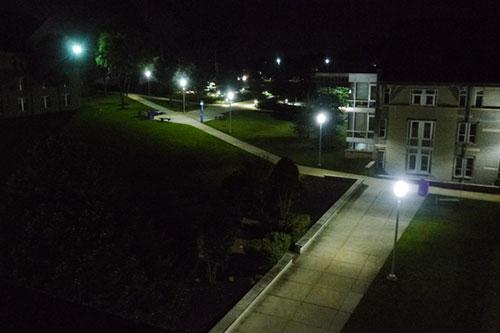Neumann University LED Exterior Lighting