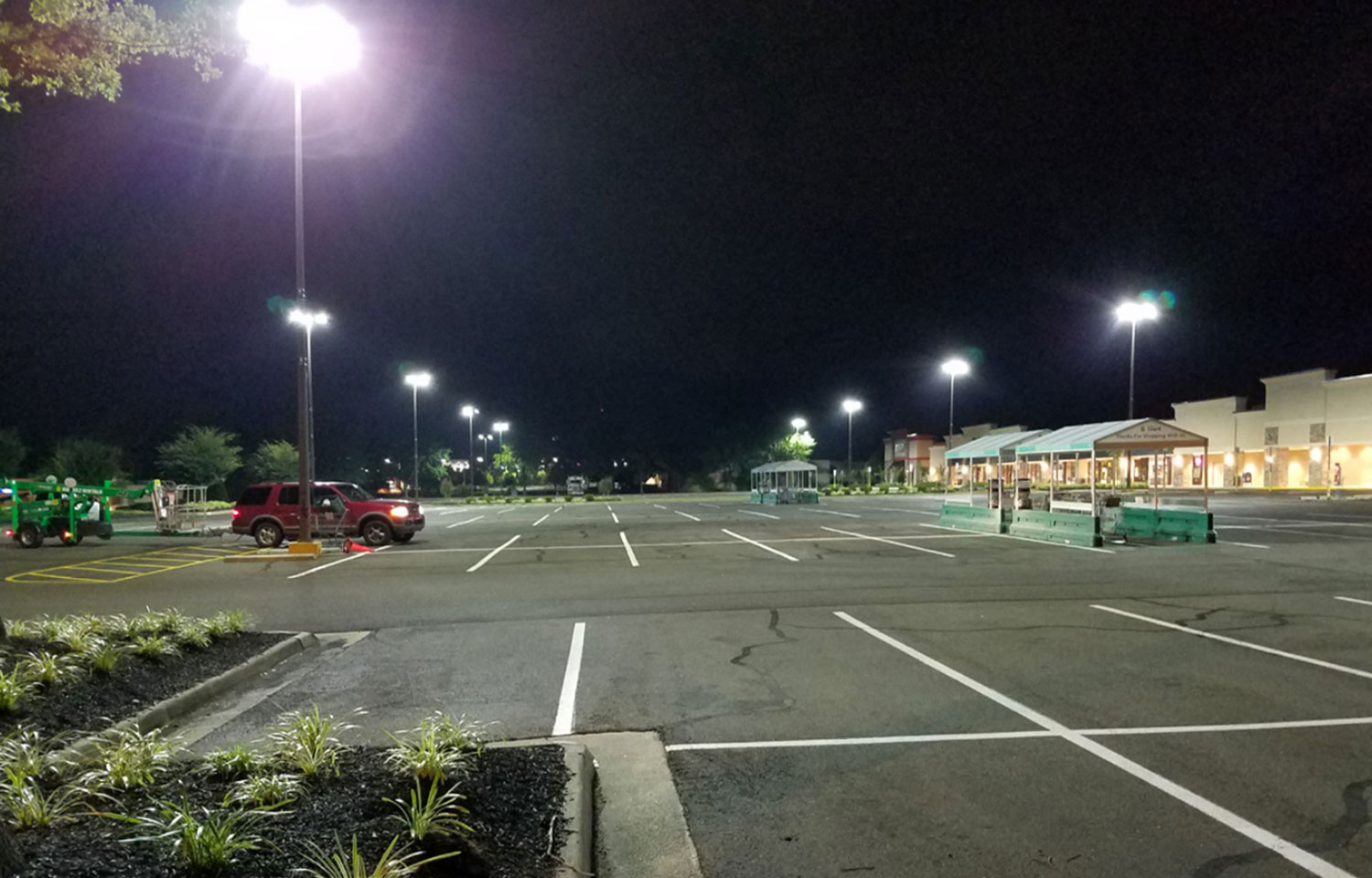 Three Benefits Of Led Parking Lot Lighting
