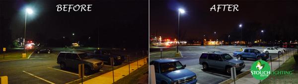 Kevon One Office Center LED Light Conversion Project Pennsauken New Jersey