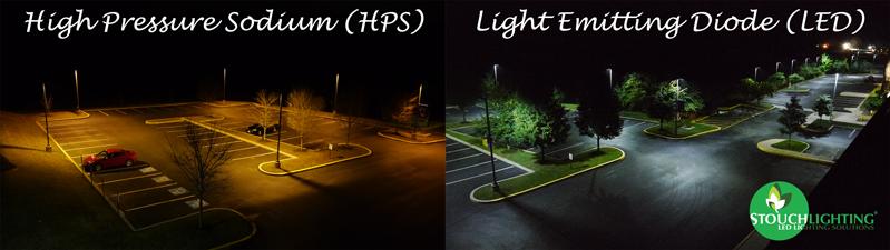 Lighting Comparison: LED vs High Pressure Sodium (HPS) and