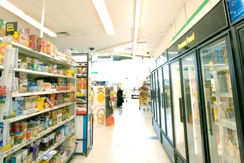 LED Lighting Grocery Store