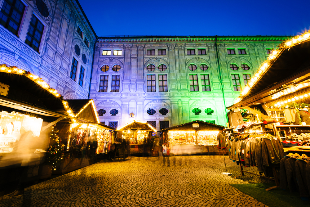 Christmas Market Lights